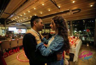 Kuğulu Park'ta Romantik Evlilik Teklifi - 2240