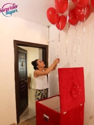 Sürpriz Kutu Uçan Balonlar