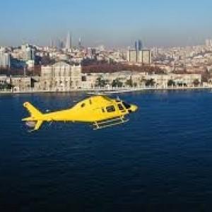 Helikopter Turu ve Çırağan Sarayında Yemekte Evlenme Teklifi