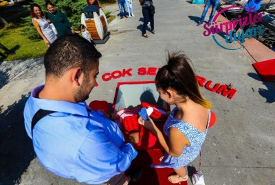 Surprise Marriage Proposal on the Street - 223