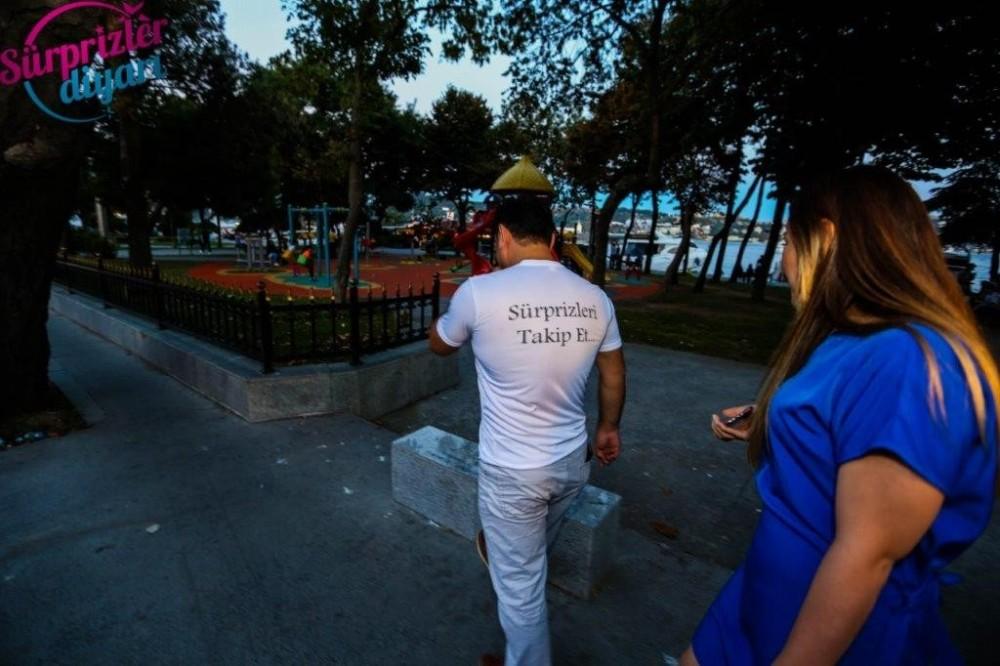 İzmir'de Puzzle İle Evlilik Teklifi