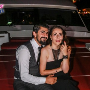 Yacht Laser Show Marriage Proposal / 1 Hour Eco Package with Cocktail Service