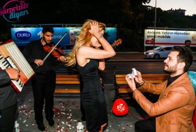 Surprise Marriage Proposal with an Orchestra - 359