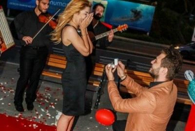 Surprise Marriage Proposal with an Orchestra - 360