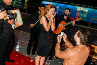 Surprise Marriage Proposal with an Orchestra - 361