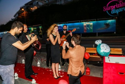 Surprise Marriage Proposal with an Orchestra - 362