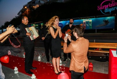 Surprise Marriage Proposal with an Orchestra - 363