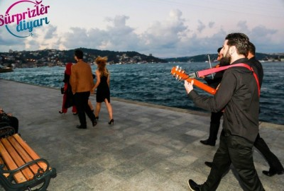 Surprise Marriage Proposal with an Orchestra - 353