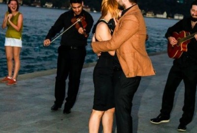 Surprise Marriage Proposal with an Orchestra - 354