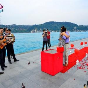 Orkestra Takipte ile Evlilik Teklifi Paketi