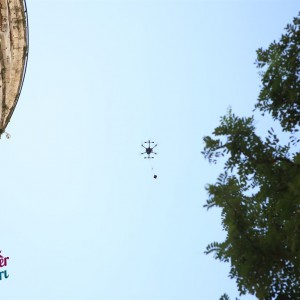 Marriage Proposal with Aerial Shooting and Drone