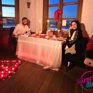 Kız Kulesi Kule Bar Kapama ile Evlilik Teklifi / Vip Paket