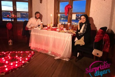 Kız Kulesinde Romantik Evlenme Teklifi - 469