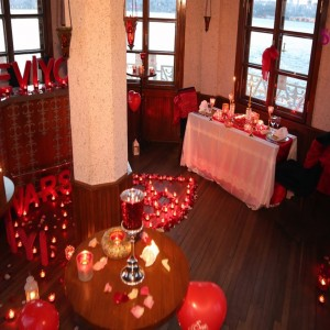 Marriage Proposal by Reserving the Maiden's Tower's Bar / VIP Package