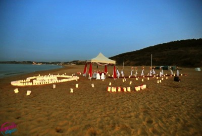 Surprise Marriage Proposal on the Beach - 597