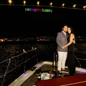 Tower Bar  Reservation (the whole bar) and Yacht Laser Light Marriage Proposal / VIP Package
