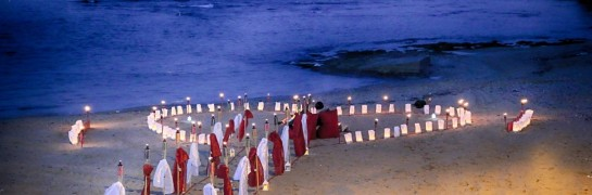 Surprise Wedding Proposal On The Beach Winter Concept Economical Package