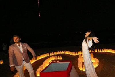Surprise Marriage Proposal on the Beach - 609