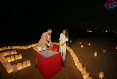 Surprise Marriage Proposal on the Beach - 610