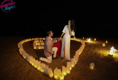 Surprise Marriage Proposal on the Beach - 611