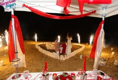 Surprise Marriage Proposal on the Beach - 612