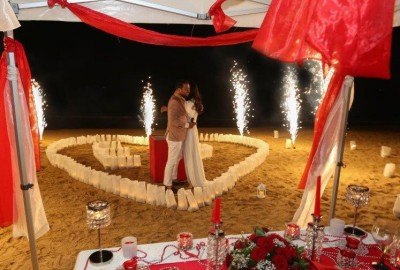 Surprise Marriage Proposal on the Beach - 634