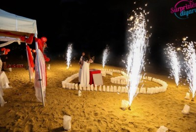 Surprise Marriage Proposal on the Beach - 614
