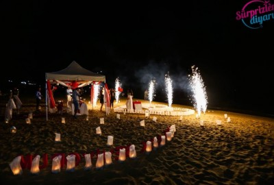 Surprise Marriage Proposal on the Beach - 636