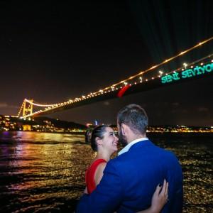 Lazerle Evlilik Teklifi ve Havai Fişek Gösterisi Eko Paket