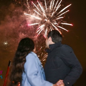 Mega Yacht Laser Light Marriage Proposal and Professional Fireworks Display Special Package